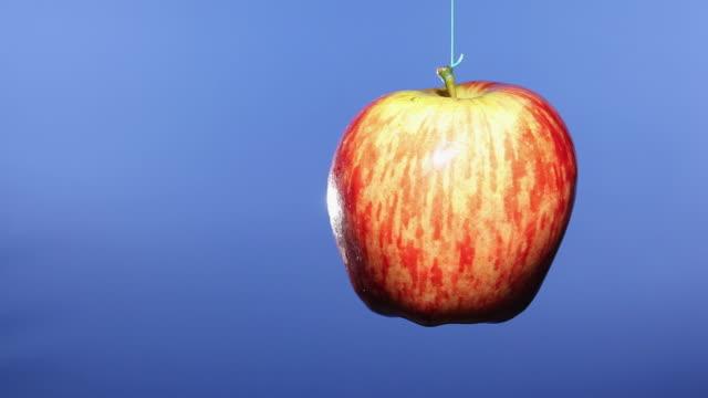 ms apple rotating / sao paulo, brazil - 懸掛的 個影片檔及 b 捲影像