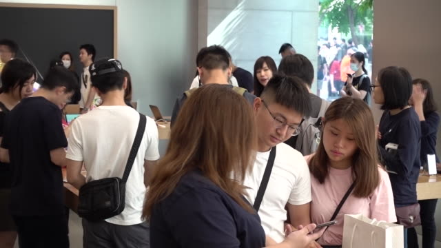 Apple store in Hong Kong China on Friday September 21 2018