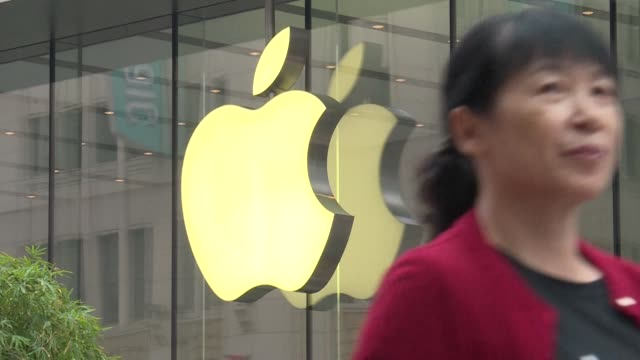 Apple's latest mobile phone the iPhone 8 goes on sale in China