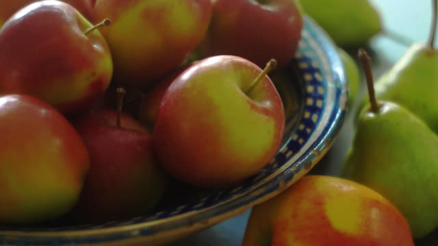 apples & pears - pear stock videos & royalty-free footage