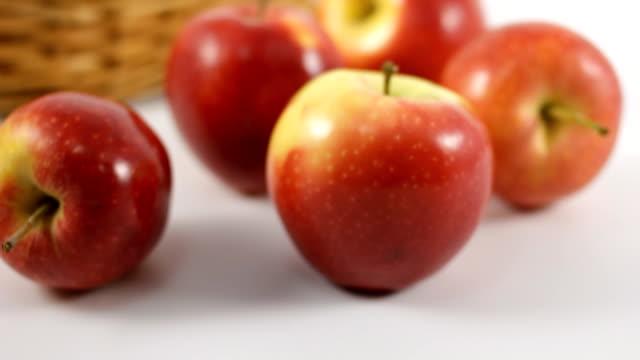リンゴ - ソフトフォーカス点の映像素材/bロール