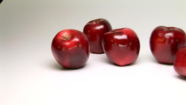 apples - レッドデリシャス点の映像素材/bロール