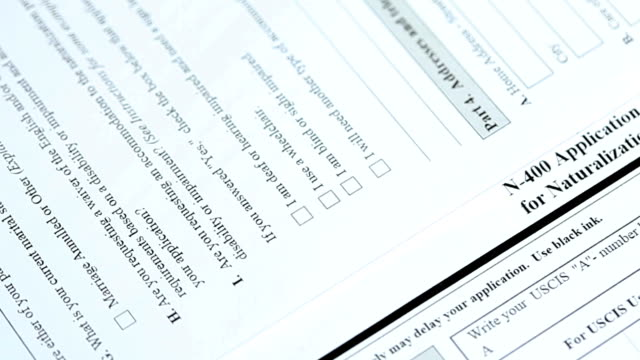 N-400 application form