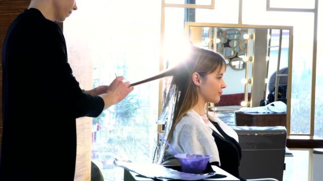 Applying Hair Dye