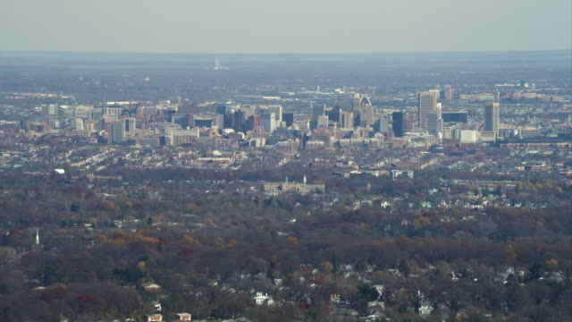 Approaching Baltimore, Maryland. Shot in November 2011.