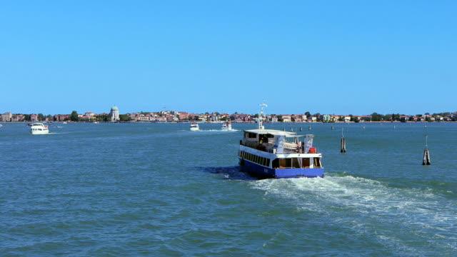approaching lido di venezia - lido stock videos & royalty-free footage