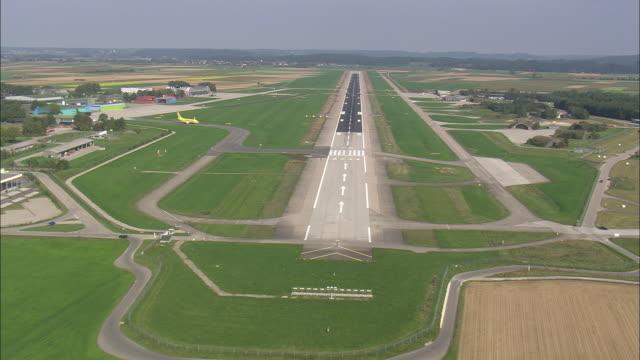 Approaching Memmingen Airport Runway