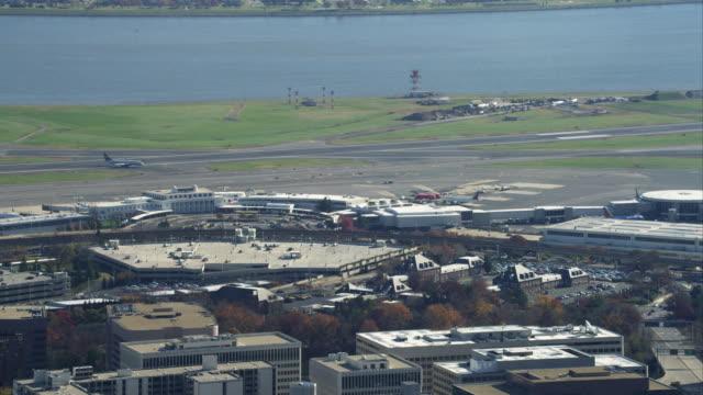 Approaching Ronald Reagan Washington National Airport. Shot in November 2011.
