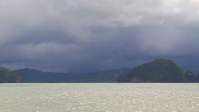 Approaching storm in Andaman Sea.