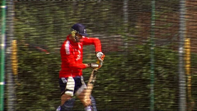 MCC approves Kevin Pietersen's 'switch hitting' technique London Lords Cricket Ground John Stephenson interview SOT England cricket players including...