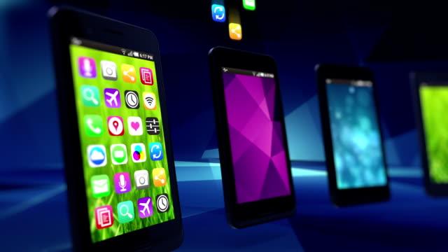 App riempire smartphone.  Anello.
