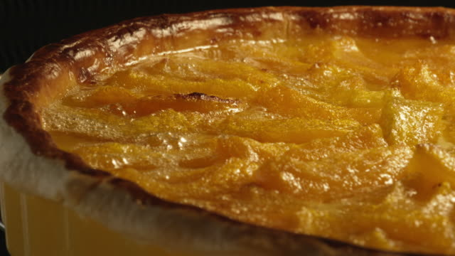 apricot tart - detail - apricot stock videos & royalty-free footage