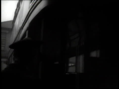 april, 1941 cu bus pulling away / united kingdom - transport conductor stock videos & royalty-free footage