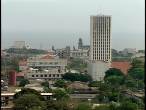 april 28, 1987 city skyline / managua, nicaragua - managua stock videos & royalty-free footage