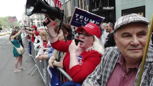 April 29th marks the first 100 days in office of President Donald Trump Protestors chanted that Trumps administration staff and policies are failures...