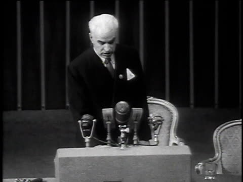 april 30 1945 ms edward stettinius addressing united nations / san francisco california united states - united nations stock videos & royalty-free footage