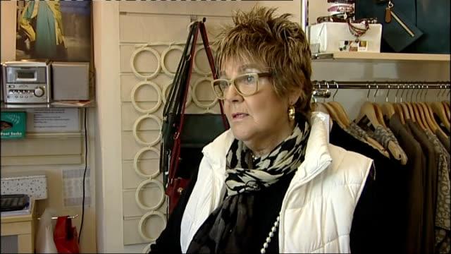 stockvideo's en b-roll-footage met local reaction int hilda fychan interview sot hope she'll come back safe - shell merknaam