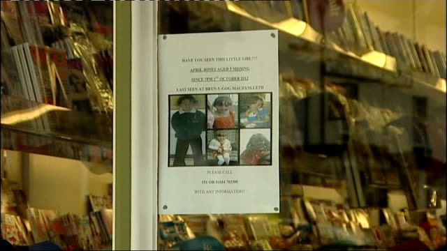 local reaction wales machynlleth ext 'missing' banner on fence 'missing' poster in shop window gv people in street gvs high street with cars along... - missing poster stock videos & royalty-free footage