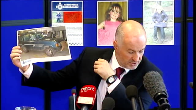 police press conference wales aberystwyth int detective superintendent reg bevan press conference sot thank you for your patience / **some picture... - aberystwyth stock videos & royalty-free footage
