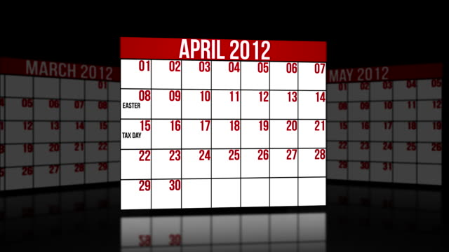 April, May, June 2012