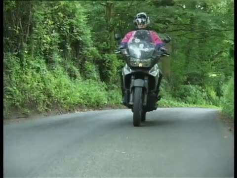 aprilia caponord 1000 - test drive stock videos & royalty-free footage