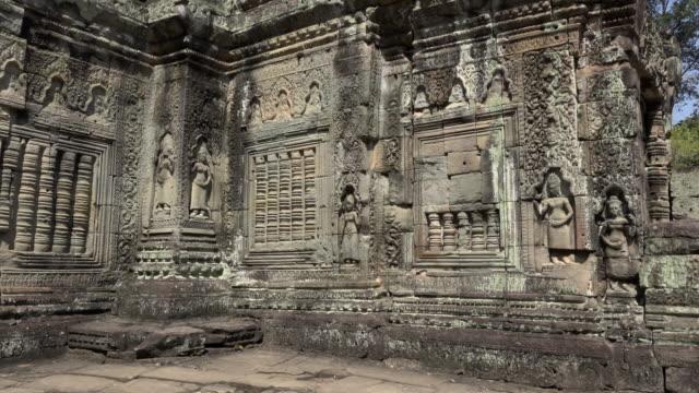 PAN / Apsara relief at Preah Khan temple