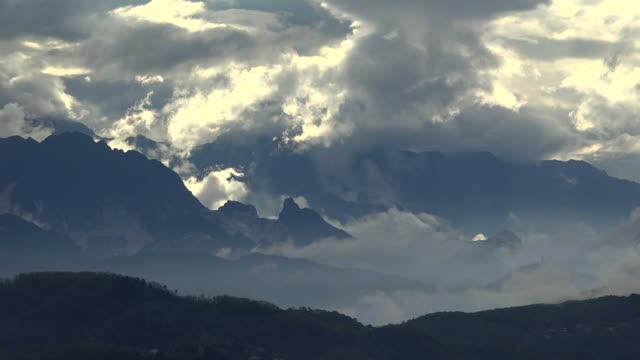 Apuan Alps with marble quarries near Carrara, Province of Massa-Carrara, Tuscany