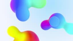 Aqua Colourful Liquid Fx Gradients Abstraction Minimalistic Form Composition