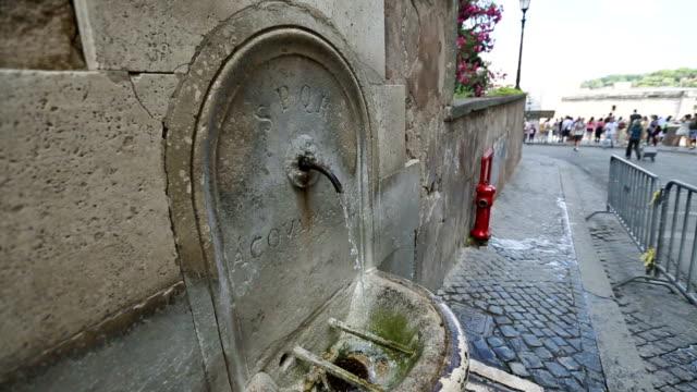Aqua Marcia Trinkwasserspender in Rom