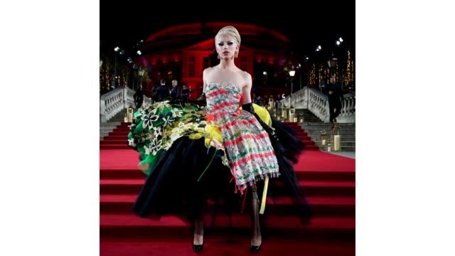 GIF Aquaria at The Fashion Awards 2018 In Partnership With Swarovski at Royal Albert Hall on December 10 2018 in London England