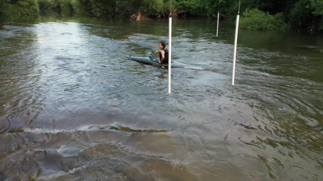 aquatic sport training - aquatic sport stock videos & royalty-free footage