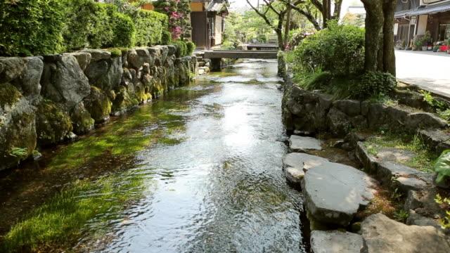 WS Aqueduct of traditional Japanese town / Maihara, Shiga, Japan