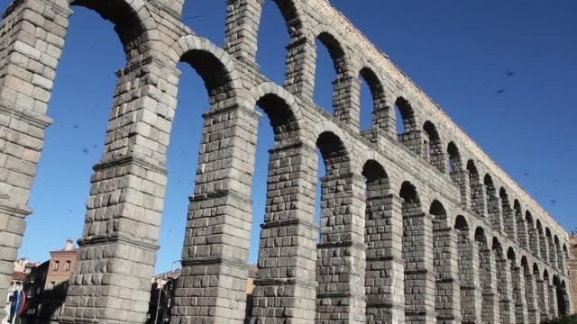 Aqueduct (Acueducto de Segovia), Segovia, Spain