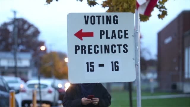 arab americans in dearborn michigan cast their votes in a pivotal midterm election seen as a referendum on the first two years of the volatile... - michigan stock videos & royalty-free footage