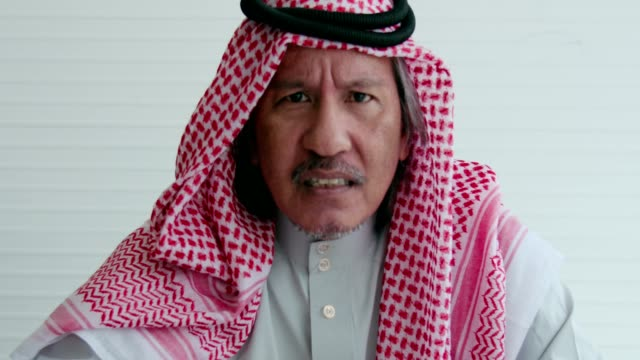 arab businessman angry - arabesque stock videos & royalty-free footage