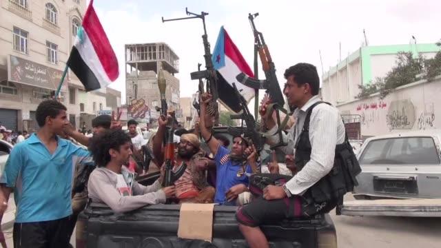 vídeos y material grabado en eventos de stock de arabia saudi y egipto los dos pilares de la coalicion arabe en yemen anunciaron su intencion de llevar a cabo maniobras militares a gran escala en... - llevar