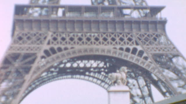 arc de triomphe du carrousel / river seine and eiffel tower plus shots of a replica of the statue of liberty / palace at versailles / views of paris... - replica eiffel tower stock videos & royalty-free footage