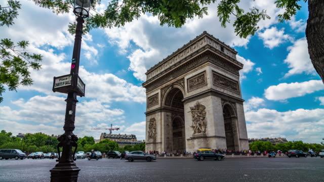 Arc de Triomphe Paris, France - 4K Cityscapes, Landscapes & Establishers