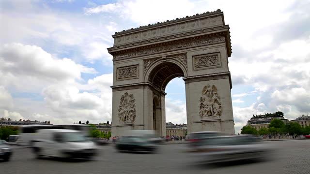 Arc de Triomphe timelapse