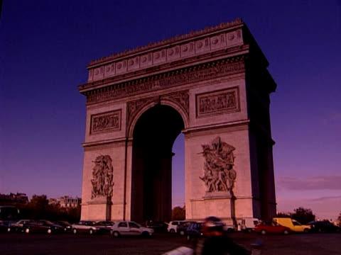 vidéos et rushes de arc de triomphe  - arc élément architectural
