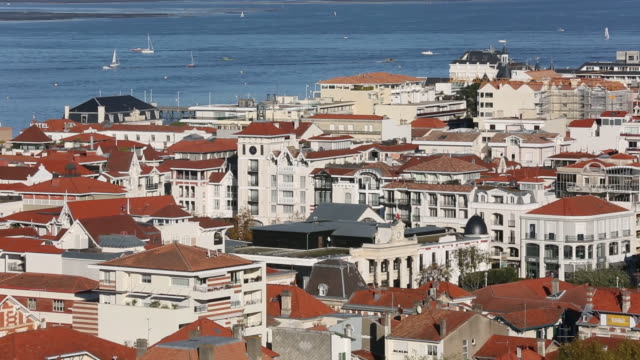 arcachon - arcachon stock videos & royalty-free footage