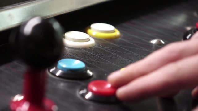 Arcade gioco con joystick