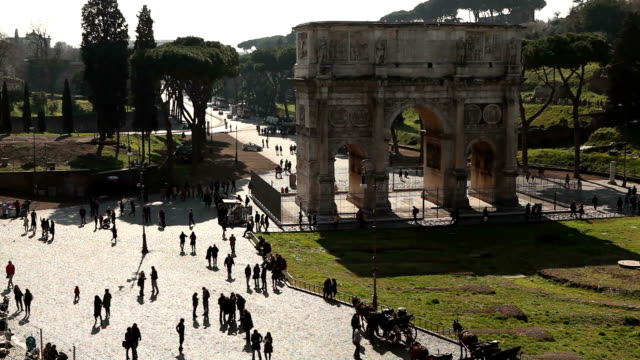 arch of constantine - arch of constantine stock videos and b-roll footage
