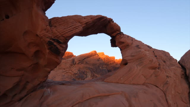 Arch Rock at Valley of Fire State Park in Nevada