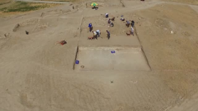 archaeological excavations have unearthed a burial ground belonging to 9th century bc urartian royals in east turkey's van province the burial ground... - 6th century bc stock videos and b-roll footage