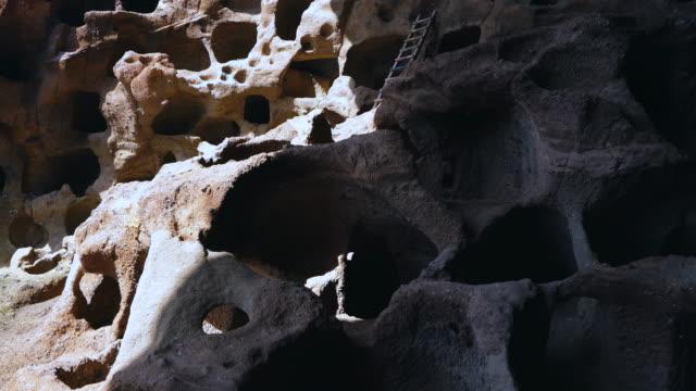 archaeological site cenobio de valeron, santa maría de guía, gran canaria island, canary islands, spain, europe - grand canary stock videos & royalty-free footage
