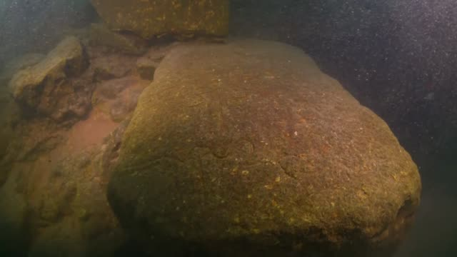 archaeologists in turkey's eastern van province discovered the ruins of a 3000yearold urartu castle during underwater excavations in lake van the... - archaeologist stock videos & royalty-free footage