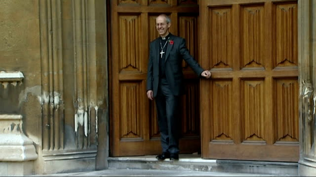archbishop of canterbury designate asks for betting wins to be donated to the church england london lambeth palace photography** the right reverend... - lambeth stock videos & royalty-free footage