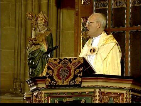 Archbishop of Canterbury George Care to retire LIB Kent Canterbury Archbishop of Canterbury Dr George Carey along INT Carey to pulpit Dr George Carey...