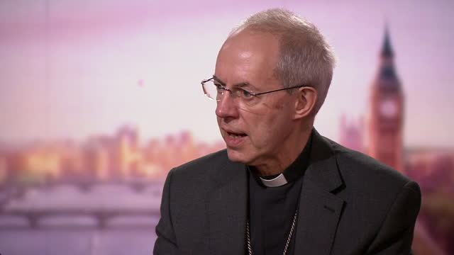 archbishop of canterbury justin welby giving advice for elderly people during christmas with the ongoing coronavirus crisis - advice stock videos & royalty-free footage
